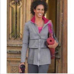 Athleta Renew Tiered Ruffle Jacket Activewear